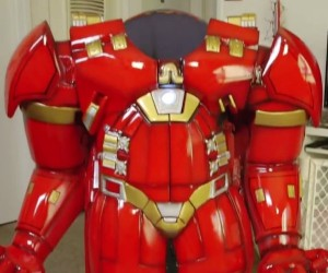 Hulkbuster High Chair Turns Toddler into an Armored Terror