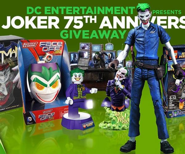 DC Comics' Joker 75th Anniversary Giveaway