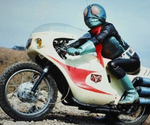 The Real Kamen Rider Battles Drunk Drivers