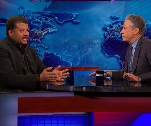 Stewart and Tyson Talk Science and Batman v. Superman
