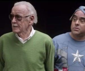 Stan Lee Teaches Cameo School