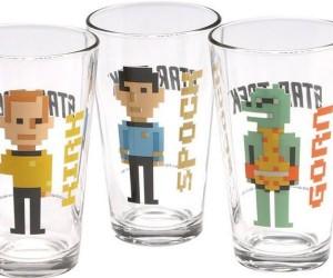 Pixelated Star Trek Glasses