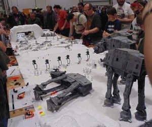 Star Wars Battle of Hoth Miniature Wargame