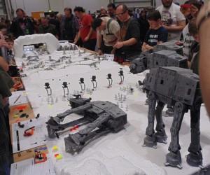 Star Wars Battle of Hoth Miniature Wargame