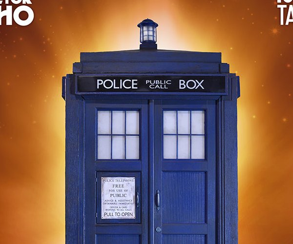 This 1:6 Scale TARDIS is Perfect for Your Figures