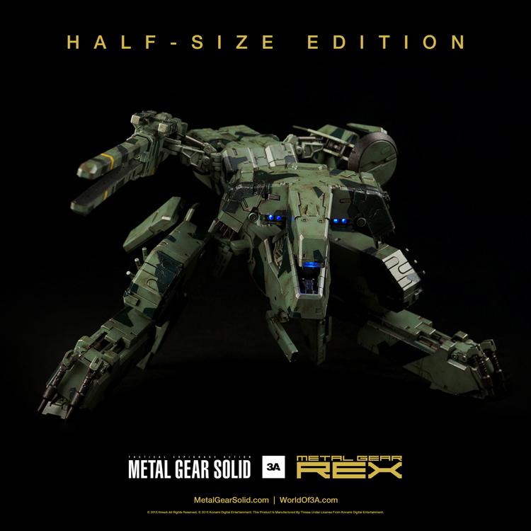 ThreeA Half-Size Metal Gear Rex