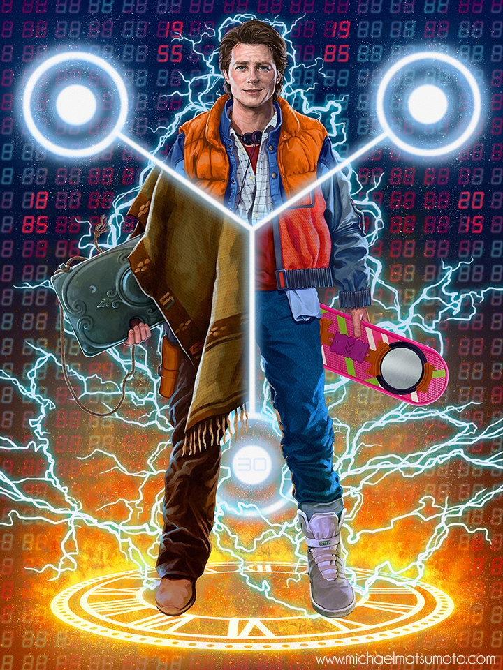 W8AMINIT: Awesome Back to the Future Fan Art - MightyMega