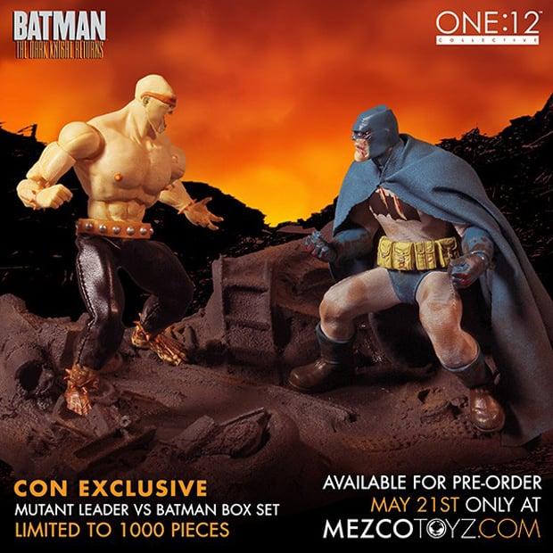 Mezco The Dark Knight Returns Deluxe Boxed Set