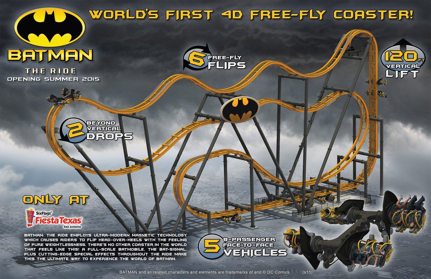 Six Flags Fiesta Texas Tickets | Save With Go San Antonio ...