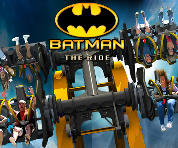 Batman: The Ride – Just What is a 4D Rollercoaster?