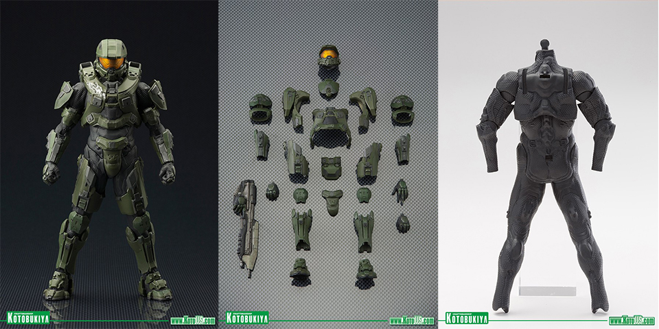 Kotobukiya HALO 4 Master Chief ARTFX+ Action Figures