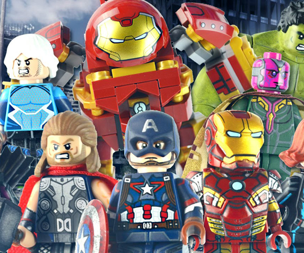 Customized LEGO Avengers: Age of Ultron Minifigs