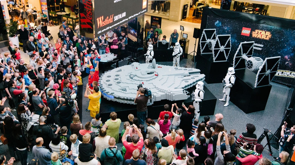 World's Largest LEGO Millennium Falcon