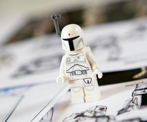 LEGO Star Wars Encyclopedia w/ Prototype Boba Fett Minifig