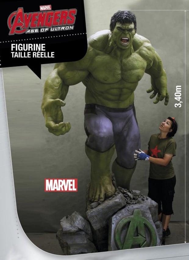 Polymark Life-size Avengers: Age of Ultron Hulk Statues