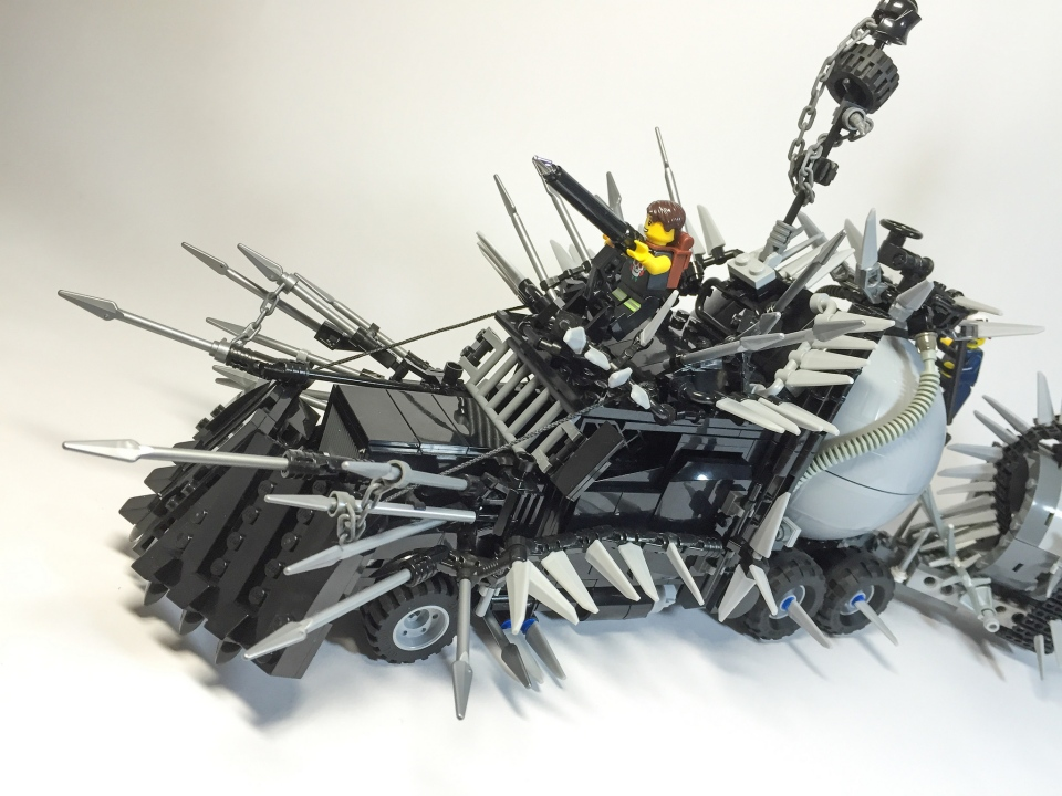 Mad Max LEGO Vehicles