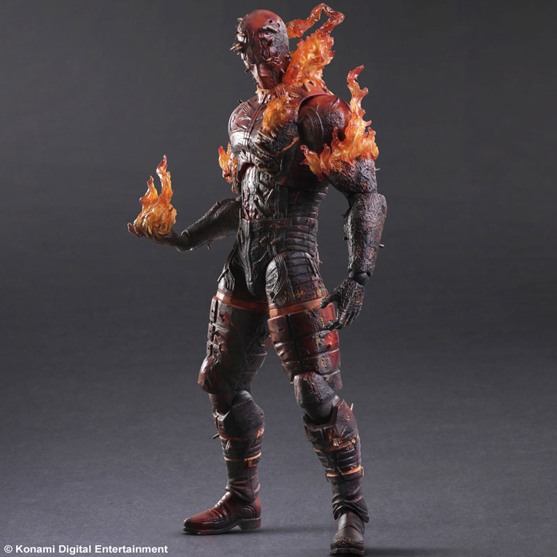 Square Enix MGS V Burning Man Action Figure