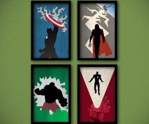 Avengers Minimalist Posters