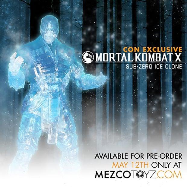 Mortal Kombat X Sub-Zero Ice Clone Action Figure