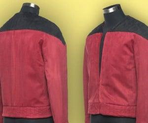 Captain Picard's Jacket Replica: Make It Sew