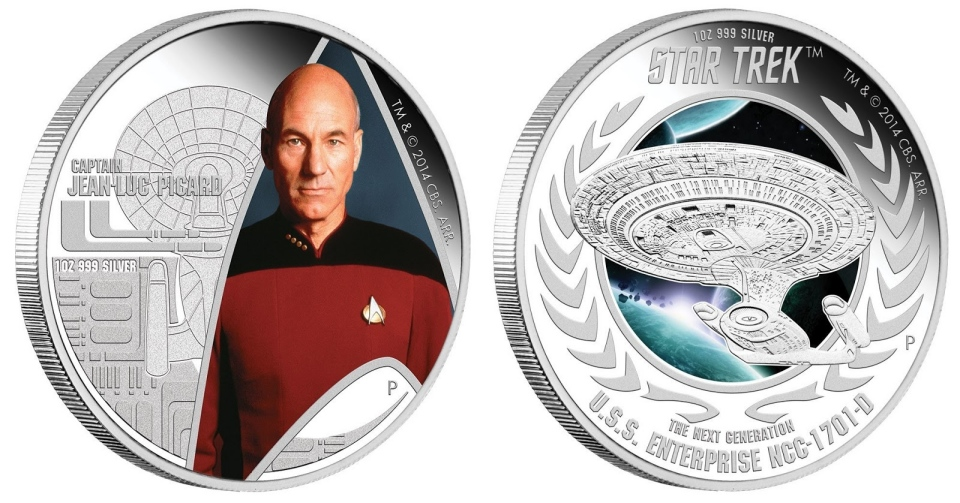Star Trek: The Next Generation Coins