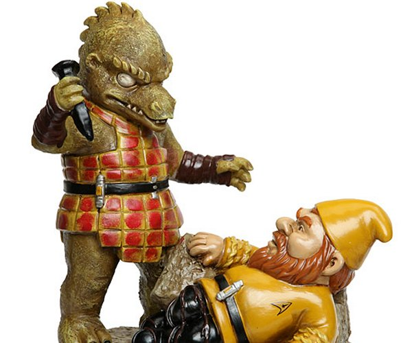 Star Trek Garden Gnomes: Live Gnome and Prosper