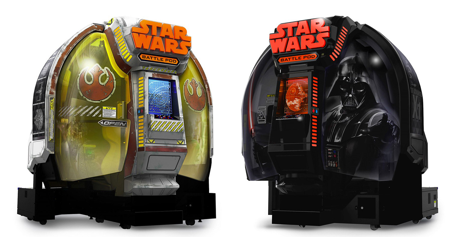Buy a Star Wars Battle Pod for Your Living Room