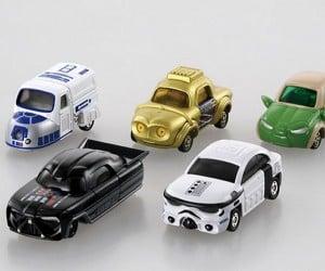 Tomica x Star Wars Die-cast Cars