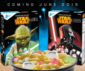 Star Wars Cereal: Spoons to the Ready Young Jedi