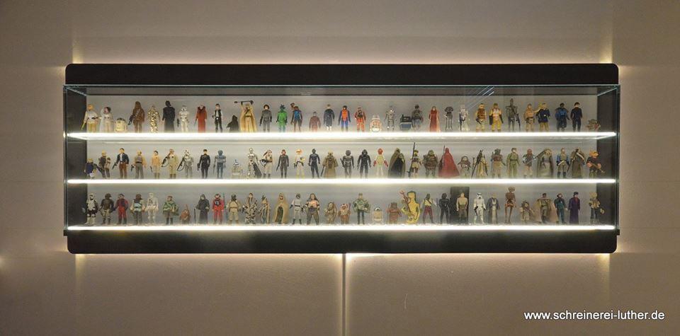 Custom Made Star Wars Action Figure Display Shelf