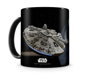 Star Wars Millennium Falcon & Death Star Mug