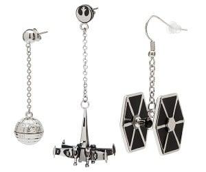 Star Wars Spaceship Earrings