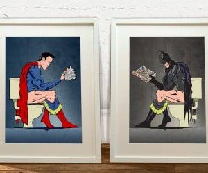 Superheroes on the Go