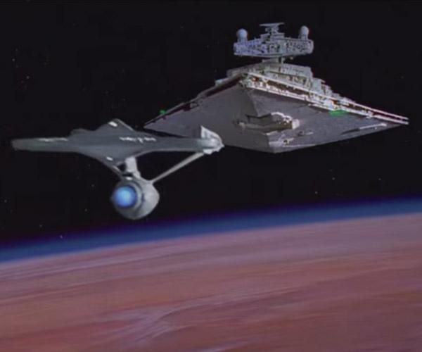 It's Star Trek vs. Star Wars in The Carbonite Maneuver
