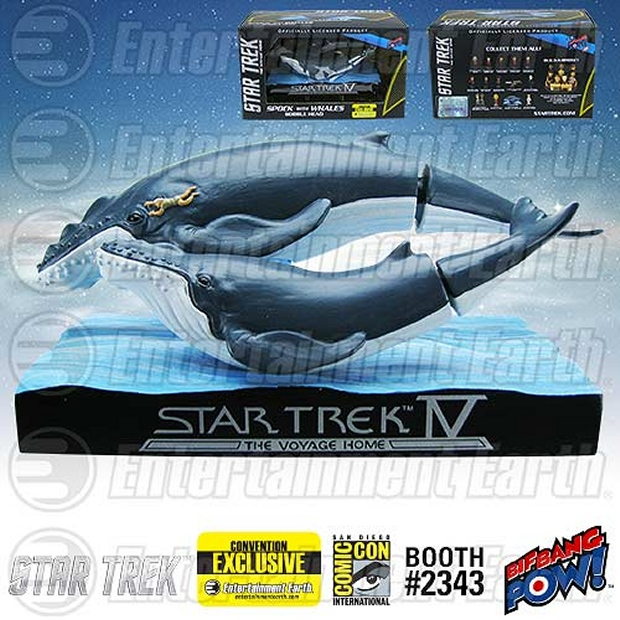 Star Trek IV: Whales with Spock Bobble Head