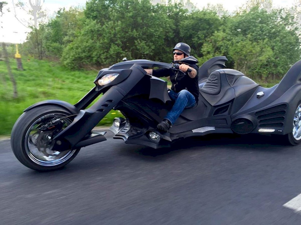 Custom Batmobile Trike
