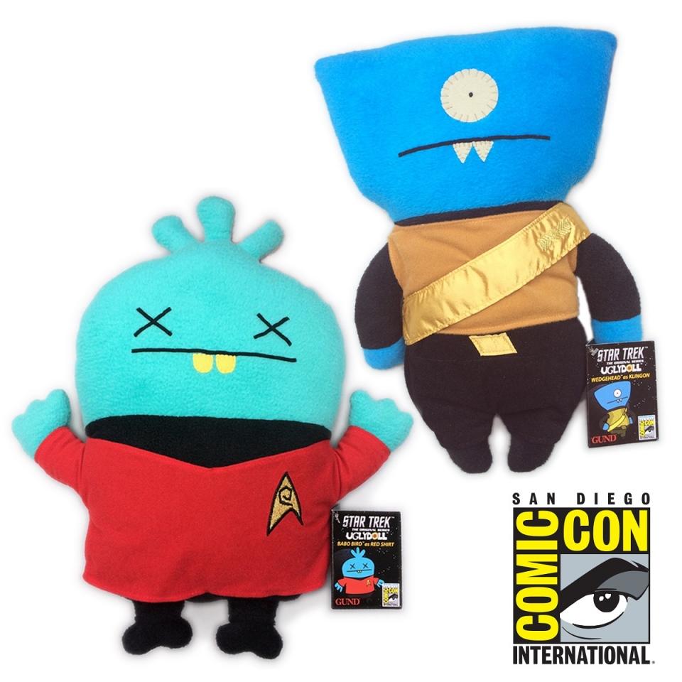 Uglydolls Star Trek Comic-Con Exclusives