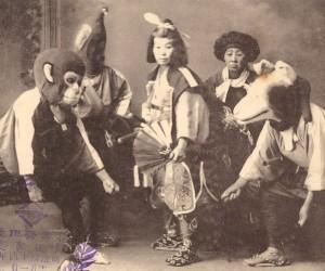 Very Old School Japanese Cosplay