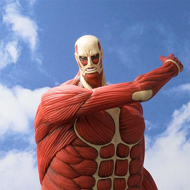 Attack on Titan Coin Bank Eats Money, Not Flesh