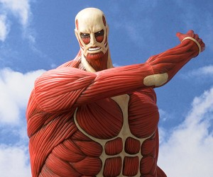 Attack on Titan Coin Bank Eats Money, Not Flesh