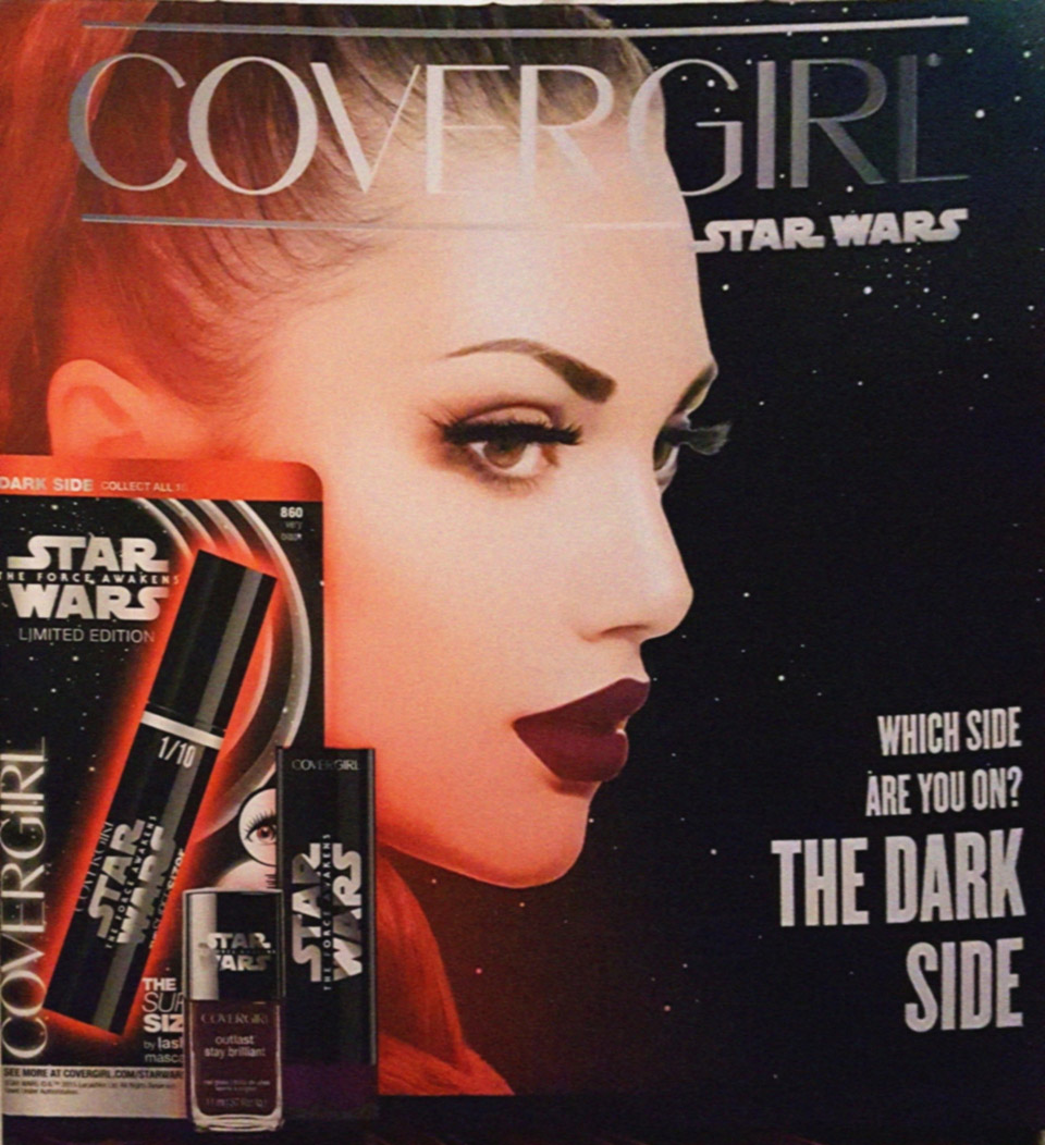Covergirl Star Wars: The Force Awakens Makeup