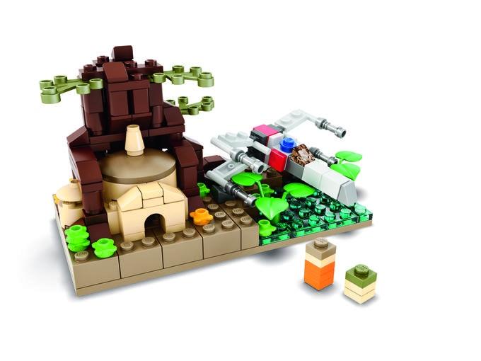 LEGO Dagobah Set Headed to SDCC