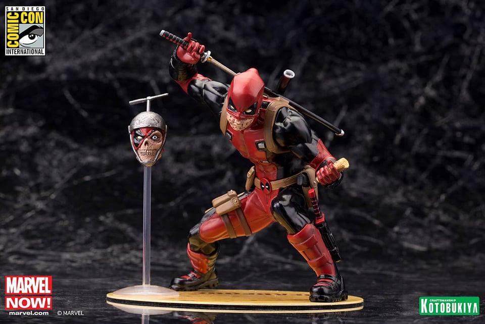 Kotobukiya Deadpool Chimichanga ARTFX+ Statue