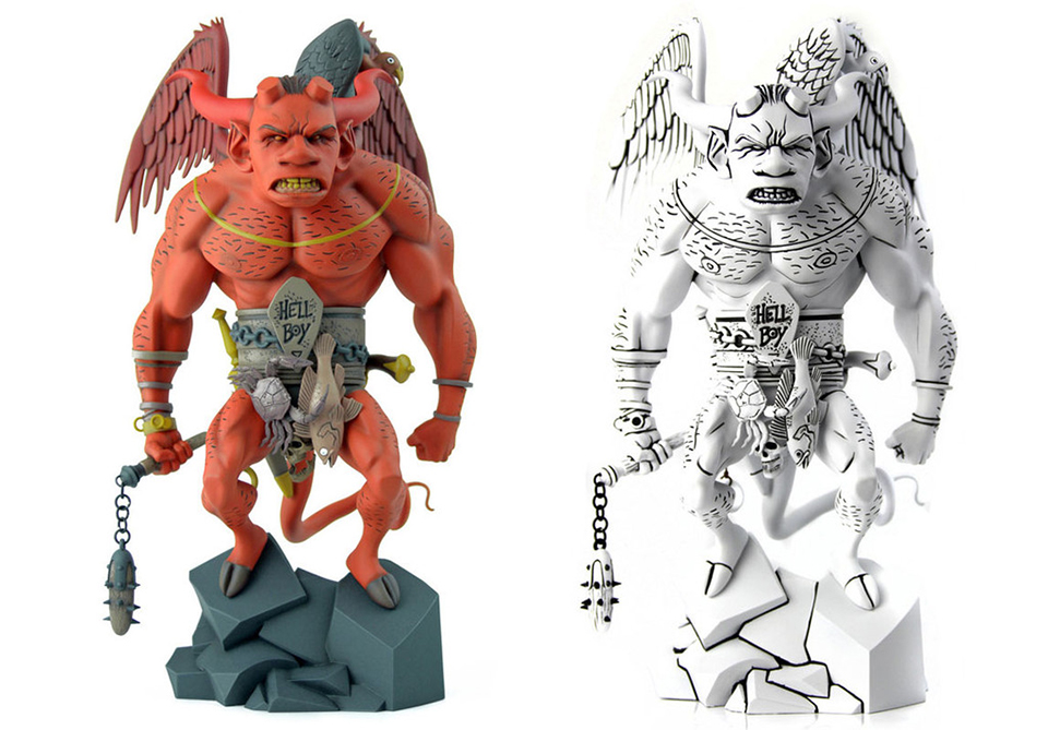 Mondo First Hellboy Action Figure