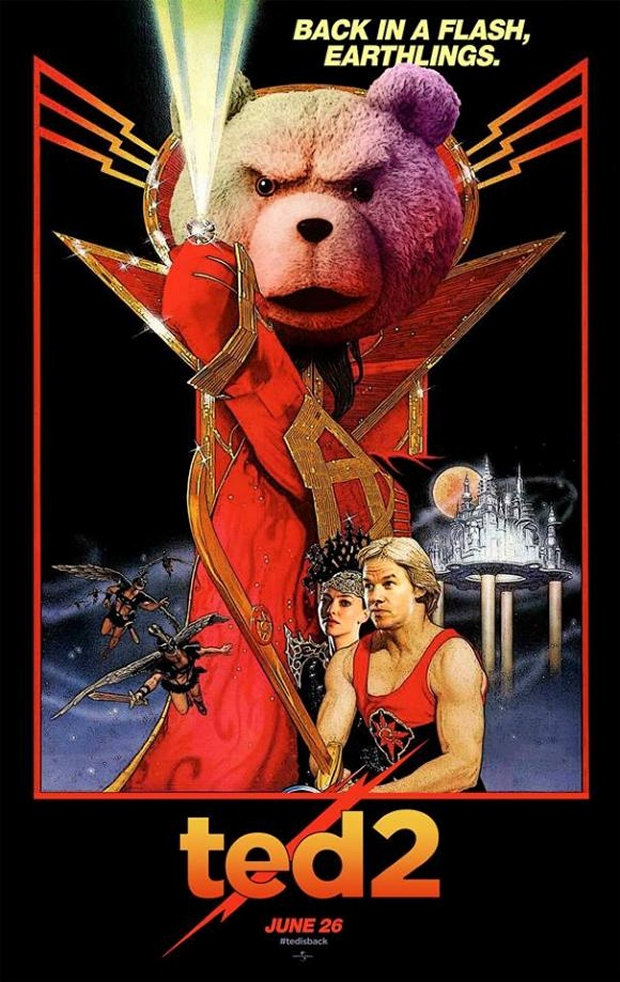 Ted 2 Flash Gordon Poster