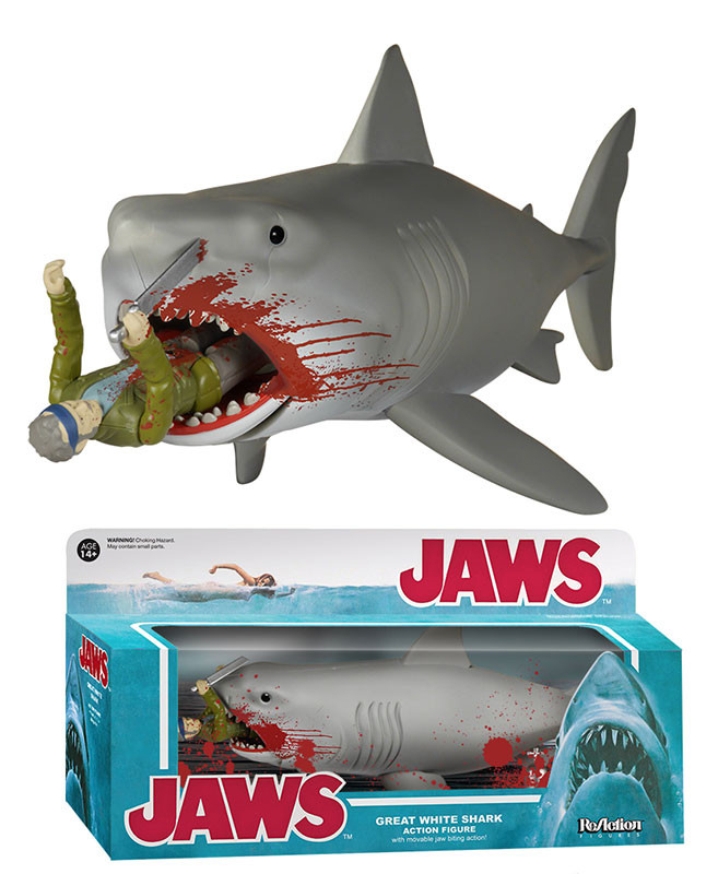 Funko ReAction Jaws Figures