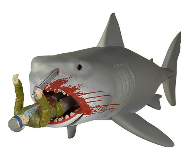 Great White Shark Jaws Toys : Funko reaction jaws figures