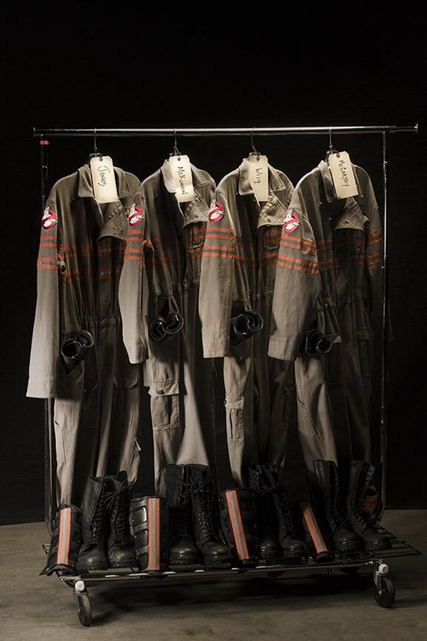 New Ghostbusters Uniforms Unveiled