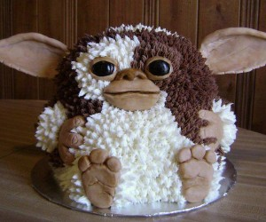 Gremlins Gizmo Cake: Eat It After Midnight