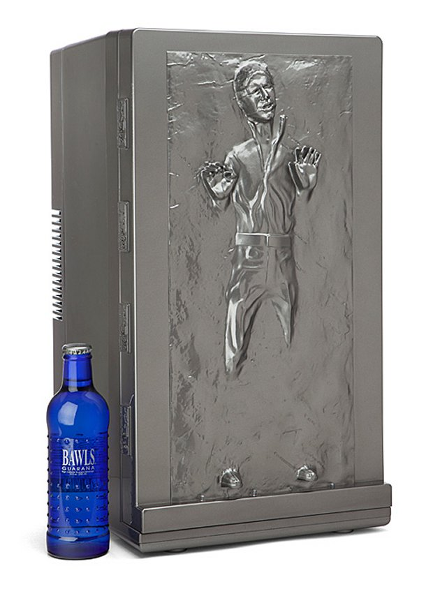 Star Wars Han Solo Frozen in Carbonite Fridge